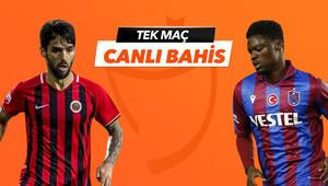 Gençlerbirliğinde Sio, Stancu ve Candeias dönüyor Trabzonspora verilen iddaa oranı...