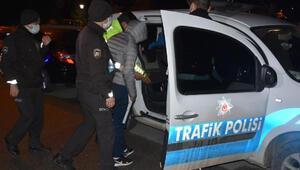 Polisin dur ihtarına uymadılar, kovalamaca sonucu yakalandılar