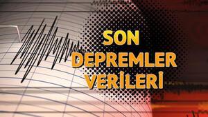 Son depremler listesi güncellendi - İşte AFAD ve Kandilli son depremler listesi