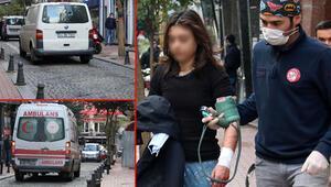 Şişlide isyan ettiren olay Ambulans gidemedi, yürüyerek gitti