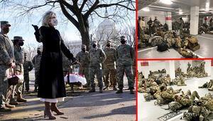 İlk günden skandal... First Lady askerlere kurabiye taşıdı