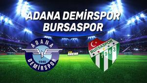 Adana Demirspor Bursaspor maçı saat kaçta, hangi kanaldan canlı yayınlanacak İşte karşılaşma öncesi notlar