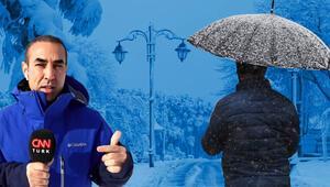 İstanbulda kar ne zaman yağacak Meteoroloji perşembe gününü işaret etmişti... Bünyamin Sürmeliden açıklama