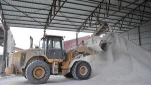 Nevşehirde kaya tuzuna talep arttı