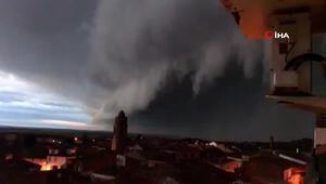 Hortense fırtınası İspanyayı vurdu