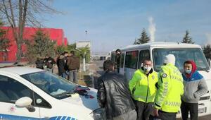 Polis durdurunca ortaya çıktı Trafikten men edildi