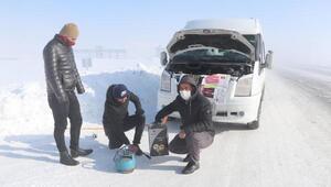 Türkiye rekoru da Vanın Çaldıran ilçesindeydi... Buz kesti: Eksi 39,2 derece