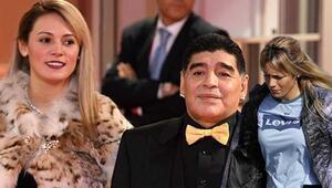 Maradonanın ölümünün ardından eski kız arkadaşı için şok suçlama Eski eşi açıkladı...