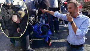 Rusyada Navalni protestoları başladı