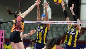 Galatasaray HDI Sigorta: 0 - 3 Fenerbahçe Opet