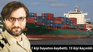 Son dakika haber: Gine açıklarında Türk gemisine korsan saldırısı 1 kişi hayatını kaybetti, 15 kişi kaçırıldı