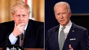 Johnson ve Bidendan önemli görüşme