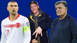Burak Yılmaza olay Mesut Özil cevabı Hamaset yapmayın, bir hata varsa o da...
