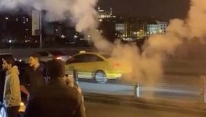 İstanbul trafiğinde yasağa rağmen asker uğurlama görüntüleri