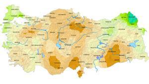 Meteoroloji raporlarında korkutan rakamlar Bölge bölge, il il açıklandı...