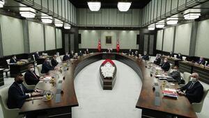Kabine toplantısı ne zaman saat kaçta başlayacak Toplantı sonrası Cumhurbaşkanı Erdoğan açıklama yapacak