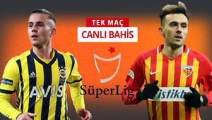 Mesut Özil oynayacak mı Fenerbahçenin Kayserispor karşısında iddaa oranı...