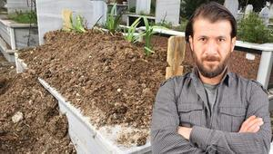 Genç oyuncu Ercan Yalçıntaş, babasının mezarına defnedildi