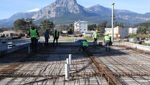 Konyaaltı Belediyesinden Çakırlara yeni hizmet binası