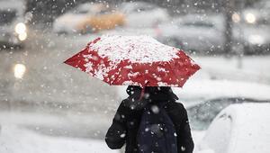 Meteoroloji son durumu paylaştı Trakyada çarşamba yoğun kar var