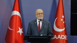 Saadet Partisi Genel Başkanı Karamollaoğlu: Herkes birbiri ile ittifak yapabilir