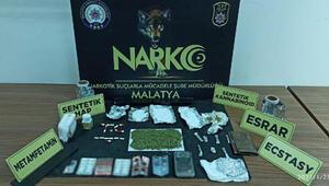 Malatyadaki uyuşturucu operasyonuna 1 tutuklama