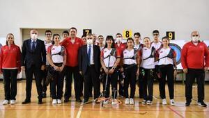 Vali Yazıcıdan milli sporculara ziyaret