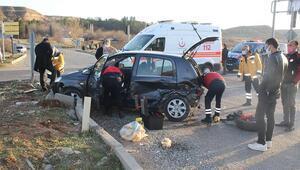 Dikkatsizlik kaza getirdi 9 yaralı