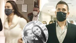 Emre Aşık ve 8 yıllık eşi Yağmur Aşık mahkemede Boşanma davasına sevgilisiyle geldi...