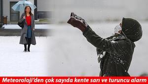 Son Dakika: Yoğun kar yağışı geliyor: Meteoroloji saat vererek uyardı İstanbula kar yağacak mı
