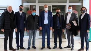 Antalyaspor için önemli ziyaretler