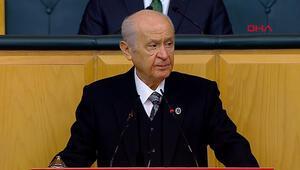 MHP Genel Başkanı Devlet Bahçeli, partisinin TBMM Grup Toplantısında konuştu