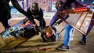 Avrupada kaos büyüyor... Koronavirüs protestoları yağmaya dönüştü