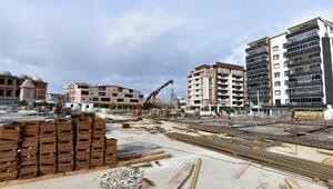 Yıldırım Belediyesi kapalı pazar alanı inşaatlarına devam ediyor