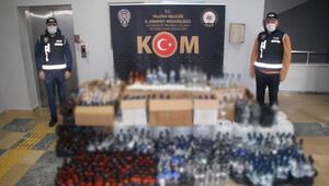 Yalova'da sahte alkol operasyonu