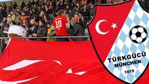 Kaiserslauternden Türkgücü Münih takımına karşı açılan ırkçı pankarta tepki