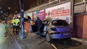 Son Dakika: Eyüpsultanda trafik kazası: 2 yaralı
