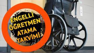 Engelli öğretmen alımı başvuruları ne zaman MEBten engelli öğretmen atamaları için duyuru