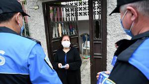 Polis, kapı kapı dolaşıp uyardı Koronavirüs aşısı yalanı...