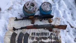 Vanda, PKKya ait silah ve mühimmat bulundu