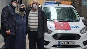 Zeytinburnu zabıtasından 65 yaş üstü vatandaşlara hastane hizmeti