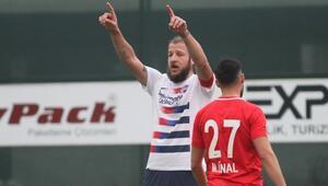 Misli.com 2. Lig   Hekimoğlu Trabzon 7-0 Sancaktepe (Batuhan Karadeniz 2 gol attı)
