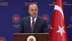 Son Dakika: Son dakika: Bakan Çavuşoğlundan önemli açıklamalar