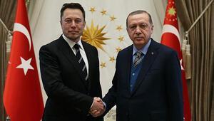 Son Dakika: Son dakika haberi: Cumhurbaşkanı Erdoğan Elon Musk ile görüştü