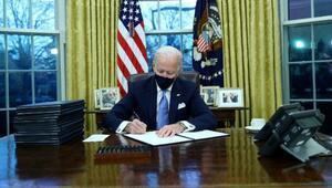 ABD Başkanı Biden iklim değişikliğiyle ilgili 3 karar imzaladı