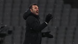 Başakşehirde Okan Buruktan Trabzonspor maçı sonrası hakem tepkisi
