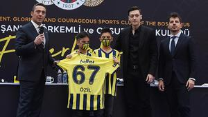 Mesut Özil: Fenerbahçe için rüya, benim için hayal gerçek oldu