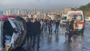 İstanbul Kartalda feci kaza 1 kişi hayatını kaybetti