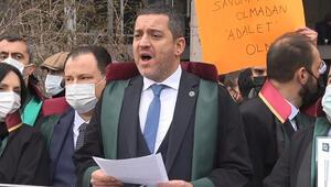 Çoklu baro eylemine katılan avukatlara soruşturma