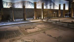 Zeugma Mozaik Müzesini sanal ortamda 1 milyon kişi ziyaret etti